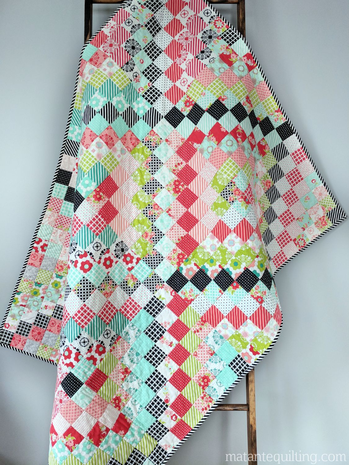 Bonnie And Camille Trip Around The World Quilt Ma Tante Quilting