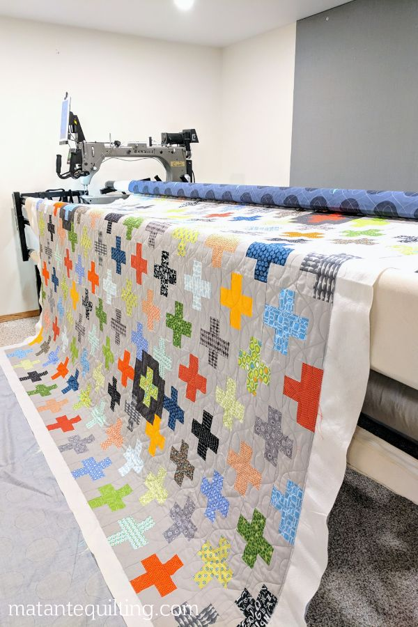 I bought a long arm! - Ma Tante Quilting